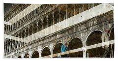 Venetian Reflections Hand Towel by Yuri Santin