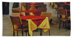 Venetian Tables Bath Towel