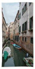 Venetian View II Bath Towel by Yuri Santin