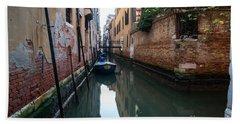 Venetian View IIi Bath Towel by Yuri Santin