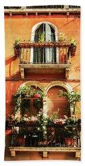 Venetian Windows Hand Towel