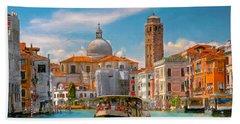 Venezia. Fermata San Marcuola Hand Towel