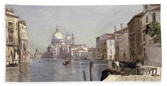 Venice - View Of Campo Della Carita Looking Towards The Dome Of The Salute Bath Towel