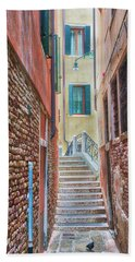 Venice Alley Bath Towel