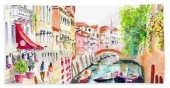 Venice Canal Boscolo Venezia Hand Towel