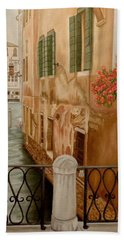 Venice In June Bath Towel