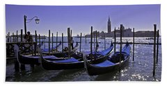 Venice Is A Magical Place Hand Towel by Madeline Ellis