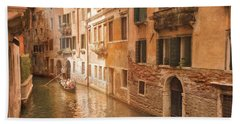 Venice Italy #1 Hand Towel by George Robinson