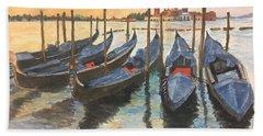 Venice Bath Towel by Lucia Grilletto