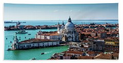Venice Hand Towel by M G Whittingham