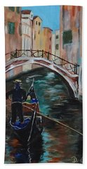 Venice Morning Hand Towel