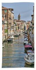 Venice Scene Hand Towel