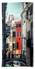 Hand Towel featuring the photograph Venice Xx by Tom Prendergast