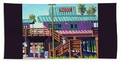 Ventura Pier - Tacos Bath Towel