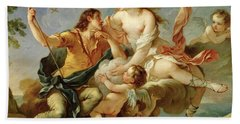 Venus And Adonis  Bath Towel