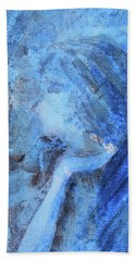 Bath Towel featuring the painting Venus by Jane See