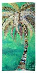 Verdant Palm Bath Towel by Kristen Abrahamson