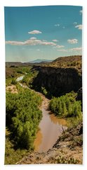 Verde Valley  Arizona Bath Towel