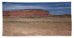 Hand Towel featuring the photograph Vermillion Cliffs Panorama by Anne Rodkin