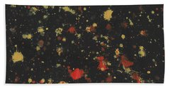Vermillion Explosion Hand Towel by Phil Strang