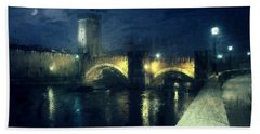 Verona, Castelvecchio Hand Towel