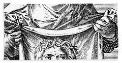 Veronica Holding The Sudarium, 1581 Hand Towel