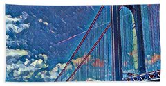 Verrazano Bridge Hand Towel