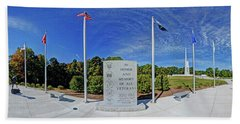 Veterans Freedom Park, Cary Nc. Hand Towel by George Randy Bass