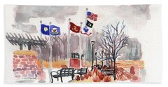 Veteran's Memorial Park Hand Towel