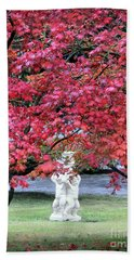 Hand Towel featuring the photograph Vibrant Autunno Italiano by Jennie Breeze