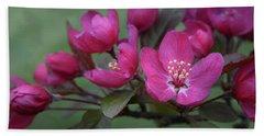 Vibrant Blooms Bath Towel by Ann Bridges