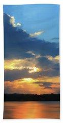 Vibrant Sunset Hand Towel