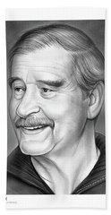 Vicente Fox Hand Towel