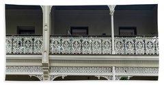 Victoria Street Balcony Bath Towel