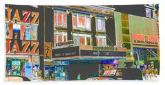 Victoria Theater 125th St Nyc Hand Towel