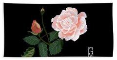 Victorian Rose Hand Towel
