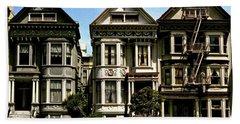 Victorian San Francisco Hand Towel by Ira Shander