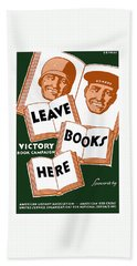Victory Book Campaign - Wpa Hand Towel