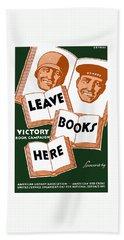 Victory Book Campaign - Wpa Bath Towel