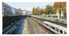 Vienna Canal Hand Towel by Christian Slanec