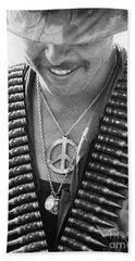 Vietnam War: Soldier, 1970 Bath Towel