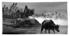Vietnamese Water Buffalo  Hand Towel