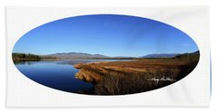 View At Cherry Pond Hand Towel