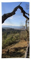 View From Cathedral Hills Hand Towel