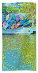View From East Side Boardwalk Hand Towel