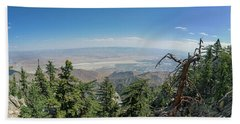 View From Mount San Jacinto Bath Towel