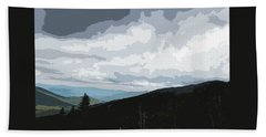 View From Mount Washington II Bath Towel