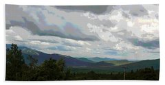 Bath Towel featuring the photograph View From Mount Washington IIi by Suzanne Gaff