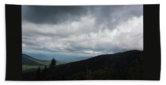 Bath Towel featuring the photograph View From Mount Washington  by Suzanne Gaff