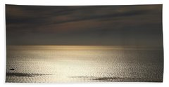 View From Point Loma Bath Towel by Christopher Woods
